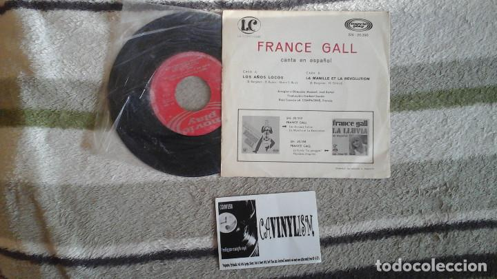 Discos de vinilo: France Gall ?– Los Años Locos Single Movieplay ?– SN - 20390 - Foto 2 - 116146047