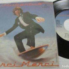 Discos de vinilo: HUBERTUS - TEARS OF LOVE + MERCI MERCI - SINGLE - COLUMBIA 1982 SPAIN. Lote 116147823