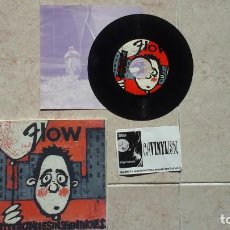 Discos de vinilo: FLOW ?– BITTER CANDIES IN SEVEN INCHES EP ELEFANT RECORDS ?– ER-134 FIRMADO POR LA BANDA. Lote 116149915