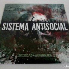 Discos de vinilo: SOZIEDAD ALKOHOLIKA - SISTEMA ANTISOCIAL - LP - MADITO RECORDS 2017 SPAIN - NUEVO PRECINTADO. Lote 116151559