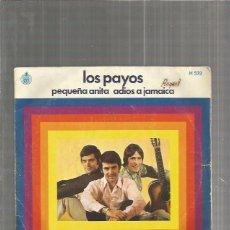 Discos de vinilo: LOS PAYOS PEQUEÑA. Lote 116158351