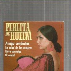 Discos de vinilo: PERLITA DE HUELVA. Lote 116162283