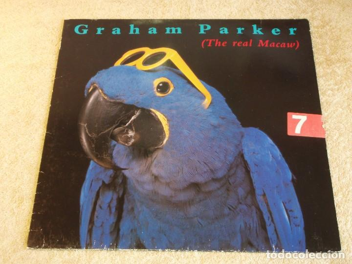 GRAHAM PARKER ( THE REAL MACAW ) 1983 - GERMANY LP33 RCA RECORDS (Música - Discos - LP Vinilo - Pop - Rock - New Wave Extranjero de los 80)
