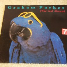 Discos de vinilo: GRAHAM PARKER ( THE REAL MACAW ) 1983 - GERMANY LP33 RCA RECORDS. Lote 116174235