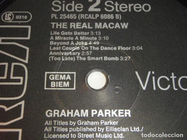 Discos de vinilo: GRAHAM PARKER ( THE REAL MACAW ) 1983 - GERMANY LP33 RCA RECORDS - Foto 5 - 116174235