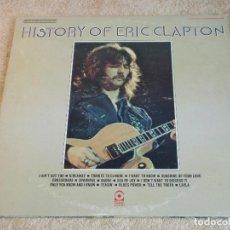 Discos de vinilo: ERIC CLAPTON ( HISTORY OF ERIC CLAPTON ) DOBLE LP33 USA-1972 ATCO. Lote 116175067