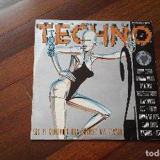 Discos de vinilo: TODO TECHNO II-DOBLE LP. Lote 116178783
