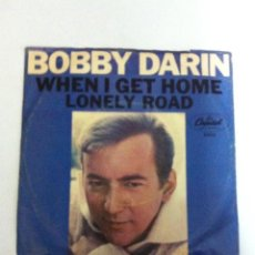 Discos de vinilo: BOBBY DARIN - WHEN I GET HOME - USA. Lote 116179643
