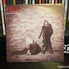 Discos de vinilo: SAXON - BACK ON THE STREETS. Lote 116188347