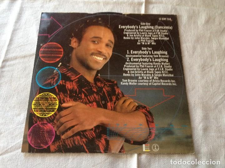 Discos de vinilo: Phil Fearon & Galaxy ?– Everybodys Laughing,1984 - Foto 2 - 116190479