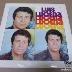 Discos de vinilo: LUIS LUCENA (LP) LUIS LUCENA – EL CASCABEL AÑO 1975. Lote 116193351