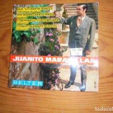 Discos de vinilo: JUANITO MARAVILLAS. QUE TU CARA SE PARECE + 3. EP. BELTER 1967. Lote 116195235