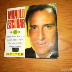 Discos de vinilo: MANOLO ESCOBAR. SEBASTIAN PALOMO + 3. EP. BELTER 1967. Lote 116195375