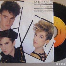 Discos de vinilo: MECANO - BARCO A VENUS + ESTE CHICO ES UNA JOYA - SINGLE CBS 1983. Lote 116198519