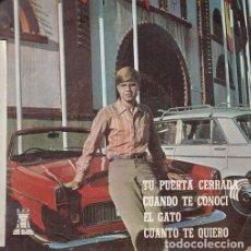 Discos de vinilo: FRANCISCO - TU PUERTA CERRADA - EP RARO DE VINILO EN DISCOS BCD. Lote 116200515
