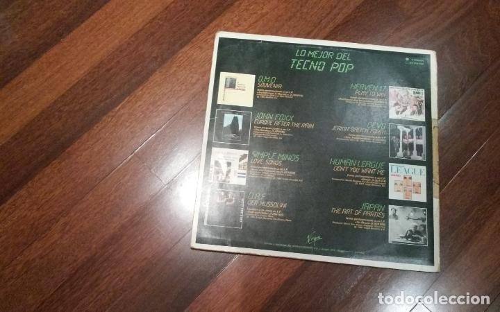 Discos de vinilo: Lo mejor del techno pop-omd,simple minds,devo..lp - Foto 2 - 116205871