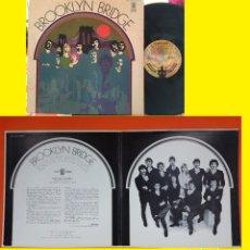 Discos de vinilo: BROOKLYN BRIDGE 1968, 1º LP, SUNSHINE POP, RARA 1ª ORIG EDIT USA BUDHA RECORDS !! IMPECABLE. Lote 116213222