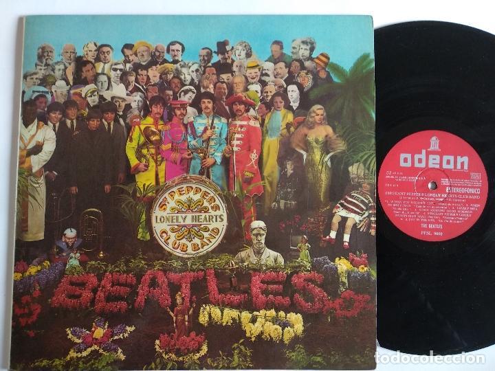 THE BEATLES - LP SPAIN PS - SERGEANT PEPPERS - PFSL 9000 - 1ª ED. ESTEREOFONICO - 1967 (Música - Discos - LP Vinilo - Pop - Rock Extranjero de los 50 y 60)