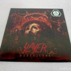Discos de vinilo: SLAYER - REPENTLEES - LP - NUCLEAR BLAST 2015 USA - GATEFOLD NUEVO PRECINTADO. Lote 116229363