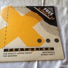Discos de vinilo: FREE 5 TRACK EP FEATURING 1986. Lote 116232587