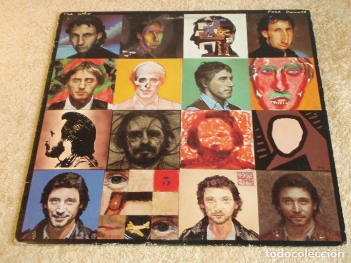 THE WHO ( FACE DANCES ) USA-1981 LP33 WARNER BROS RECORDS (Música - Discos - LP Vinilo - Pop - Rock - New Wave Extranjero de los 80)