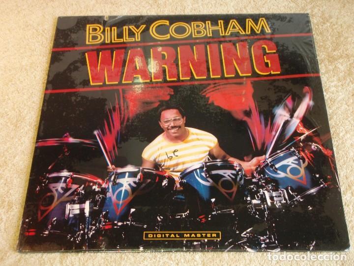 BILLY COBHAM ( WARNING ) USA - 1985 LP33 GRP RECORDS (Música - Discos - LP Vinilo - Jazz, Jazz-Rock, Blues y R&B)