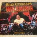 Discos de vinilo: BILLY COBHAM ( WARNING ) USA - 1985 LP33 GRP RECORDS. Lote 116235543