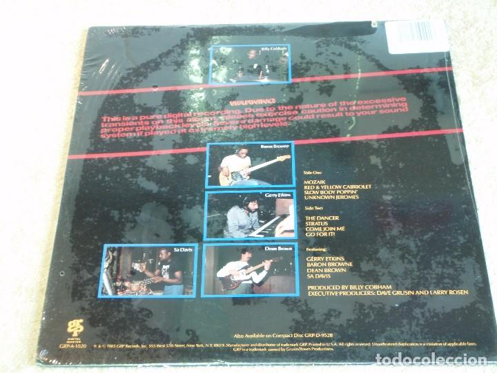 Discos de vinilo: BILLY COBHAM ( WARNING ) USA - 1985 LP33 GRP RECORDS - Foto 2 - 116235543