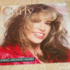 Discos de vinilo: CARLY SIMON ( COMING AROUND AGAIN ) 1987 - GERMANY LP33 ARISTA. Lote 116237319