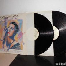Discos de vinilo: LA PIQUER VIVE -OJOS VERDES -26 CANCIONES DE LEYENDA .-2 LPS -1991- MADRID EMI ODEON-LIBRITO. Lote 116243515
