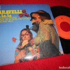 Discos de vinilo: CARAVELLI LA LA LA/CONGRATULATIONS/EL ULTIMO VALS/BALADA BONNIE CLYDE EP 1968 SPAIN DUO DINAMICO. Lote 116244311