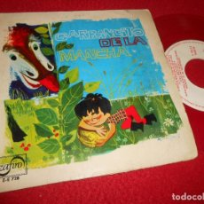 Discos de vinil: GARBANCITO LA MANCHA TEATRO INVISIBLE RADIO NACIONAL BARCELONA JOSE LUIS DE PABLO&PEPE NIETO EP 1966. Lote 116245339