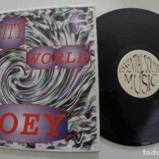 Discos de vinilo: SENSITY WORLD - JOEY. Lote 116245783