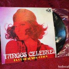 Discos de vinilo: ORQUESTA 101 STRINGS - TANGOS CÉLEBRES - SINGLE YUPY 1971. Lote 116247003