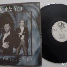 Discos de vinilo: DOUBLE YOU - PART-TIME LOVER. Lote 163462110