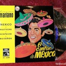Discos de vinilo: LUIS MARIANO EP SELLO LA VOZ DE SU AMO AÑO 1958 EL CANTOR DE MEXICO . Lote 116247879