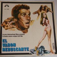 Discos de vinilo: GIANNI FERRIO – EL VARON REBUSCANTE (BSO) – LP SPAIN 1973 – DIRESA DLP 1043. Lote 194974591