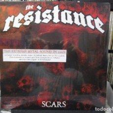 Discos de vinilo: THE RESISTANCE - SCARS (LP, ALBUM) PRECINTADO. Lote 116261575