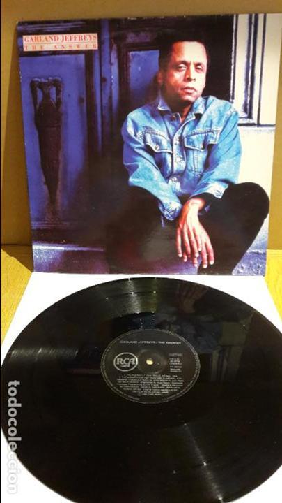 GARLAND JEFFREYS / THE ANSWER / MAXI-SG - RCA - 1991 / MBC. ***/*** (Música - Discos de Vinilo - Maxi Singles - Pop - Rock Extranjero de los 90 a la actualidad)