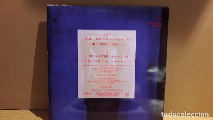 Discos de vinilo: GARLAND JEFFREYS / THE ANSWER / MAXI-SG - RCA - 1991 / MBC. ***/*** - Foto 2 - 116263435