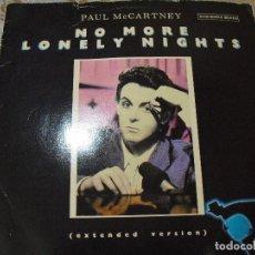 Discos de vinilo: THE BEATLES:PAUL MCCARTNEY-MAXI SINGLE 45 RPM-PROMO ESPAÑOL(EXTENDED VERSION)RARO!!. Lote 116264043