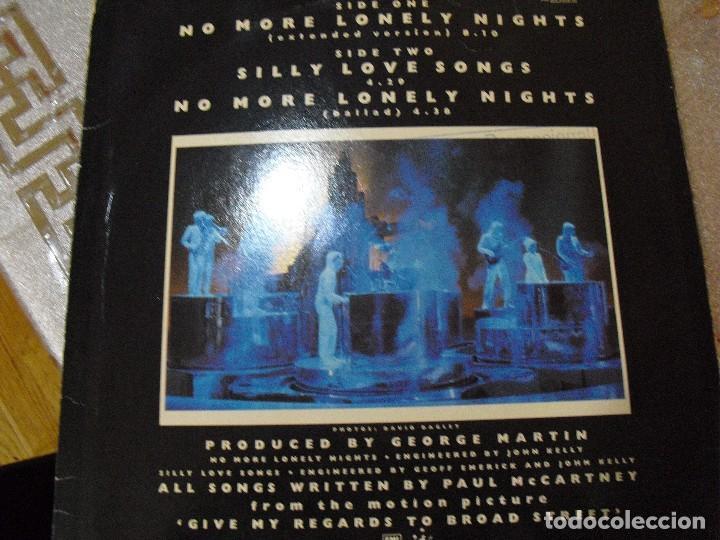 Discos de vinilo: THE BEATLES:Paul McCartney-MAXI SINGLE 45 RPM-PROMO ESPAÑOL(EXTENDED VERSION)RARO!! - Foto 2 - 116264043