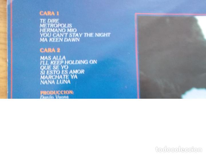 Discos de vinilo: MIGUEL BOSÉ. MÁS ALLÁ. - Foto 5 - 116267427