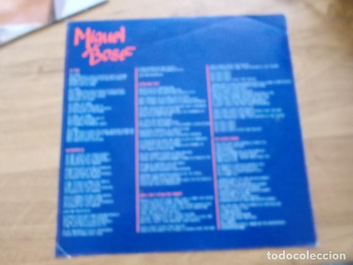 Discos de vinilo: MIGUEL BOSÉ. MÁS ALLÁ. - Foto 6 - 116267427