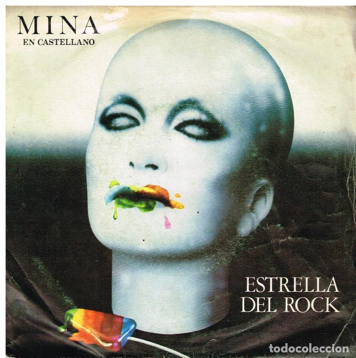 MINA - ESTRELLA DEL ROCK / TAMBIEN TU - SINGLE 1979 (Música - Discos - Singles Vinilo - Canción Francesa e Italiana)