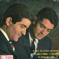 Discos de vinilo: DUO DINAMICO / ESOS OJITOS NEGROS + 3 (EP 1965). Lote 116270867