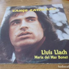 Discos de vinilo: CANCO CATALANA. LLUIS LLACH. MARIA DEL MAR BONET. Lote 116271927