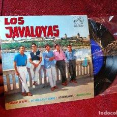 Discos de vinilo: LOS JAVALOYAS 1964 PARADISE OF LOVE / LES MONTANYES / MALLORCA BELLA +1 - SINGLE LA VOZ DE SU AMO. Lote 116274847
