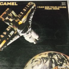 Discos de vinilo: CAMEL-I CAN SEE TOUR HOUSE FROM HERE. Lote 116276155