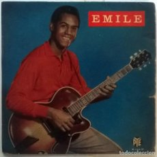 Dischi in vinile: EMILE FORD & THE CHECKMATES. RED SAILS IN THE SUNSET/ MOVE ALONG/ SEND FOR ME/ HEAVENLY. PYE UK 1960. Lote 116276559